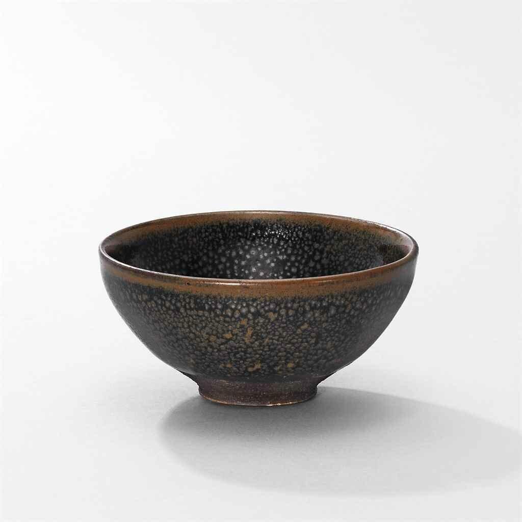 A small 'oil spot'black-glazed bowl, Northern Song-Jin Dynasty (960-1234)