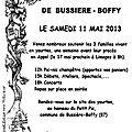 Bussière-boffy: en attendant la justice, la fête des yourtes!