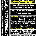 Programme novembre 2016