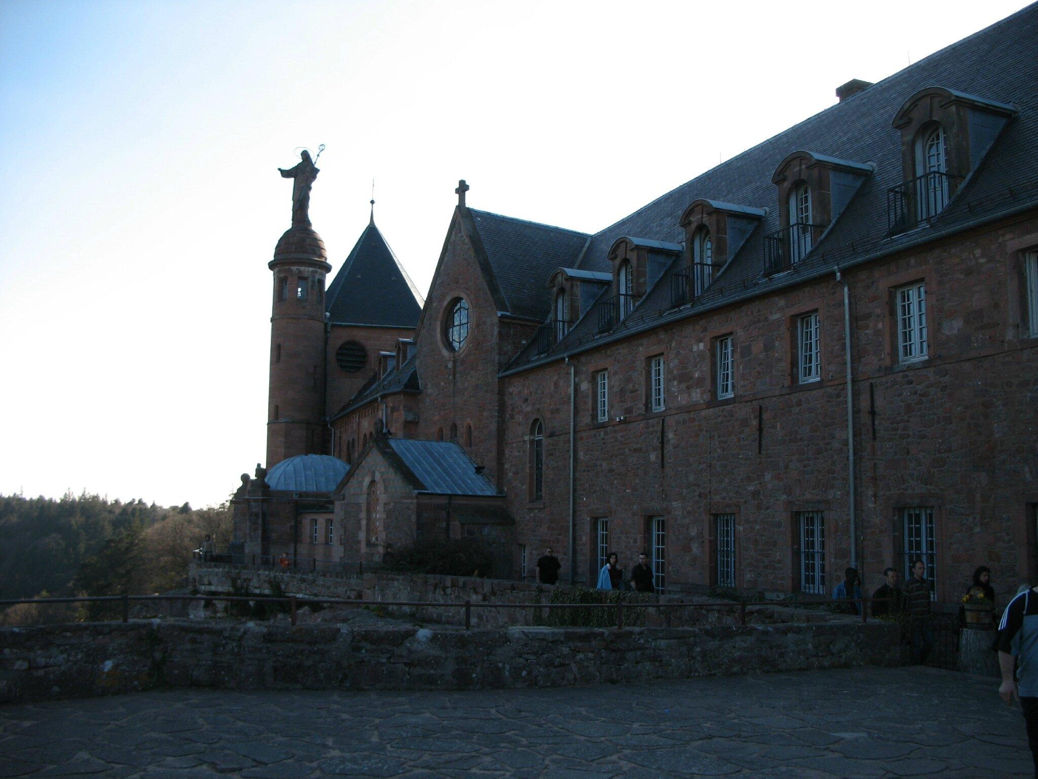 Mont Sainte-Odile, couvent (67)
