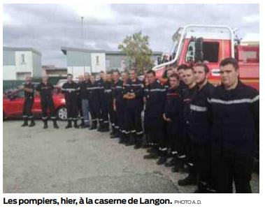les pompiers du sud-ouest