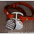 Belle Ile daim caramel médaille 25 mm-2