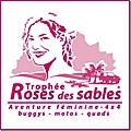 Florence rolin fera partie de l'équipage le frelon rose pour le rallyes des roses des sables parrainée par l'association afibro7