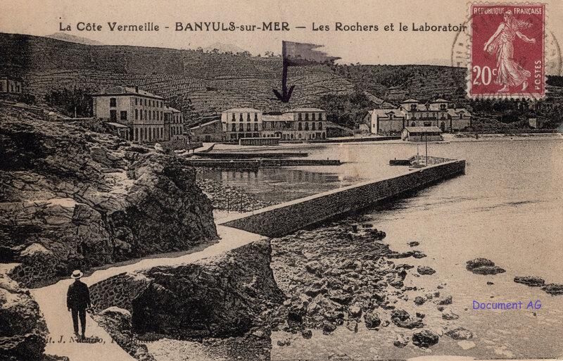 647 Les Rochers et le Laboratoire 1925