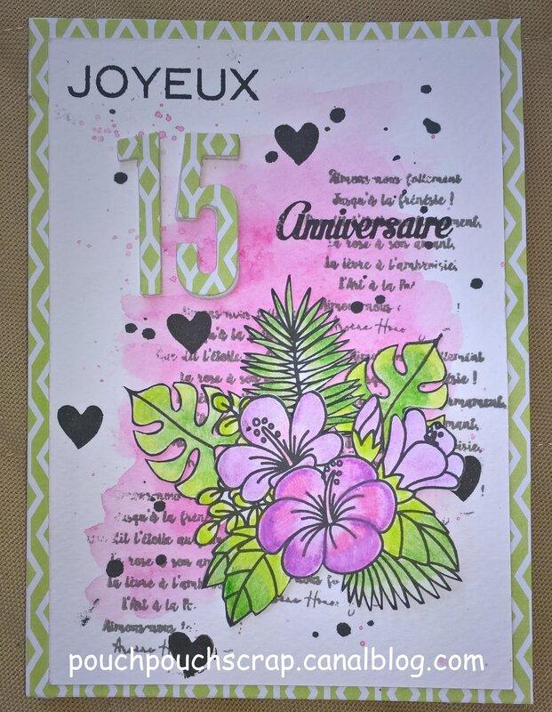 Carte Anniversaire Emilie Jardin Secret Exotique (1)