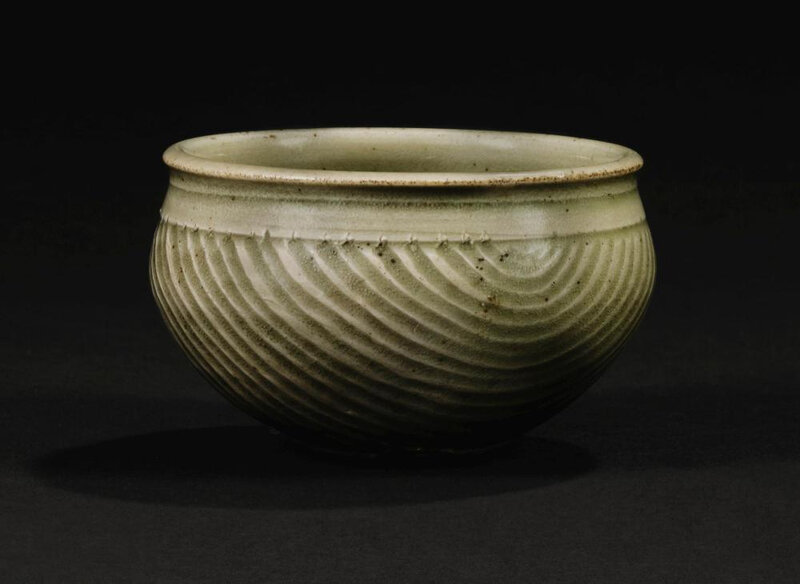 A carved Yaozhou measure, Northern Song dynasty (960-1127)
