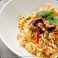 Biryani de poulet et boeuf au rice cooker