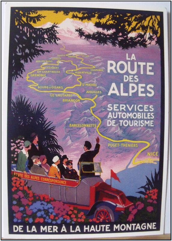 Route des Alpes - Roger Broders