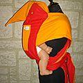 babyvouac rouge et orange winnie et ses amis (4)