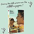 Concours ma folle semaine avec jess : 3 dvd d'un beau film familial à gagner !