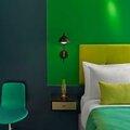 Un hôtel qui ose la couleur