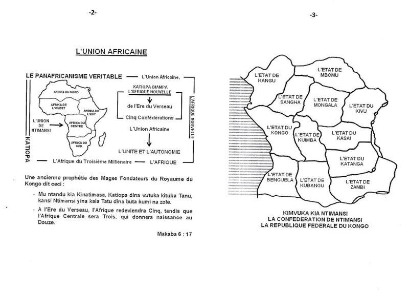 LE DESORDRE COLONIAL COMBAT LE KODI DIA MOYO DU SEIGNEUR MUANDA KONGO b