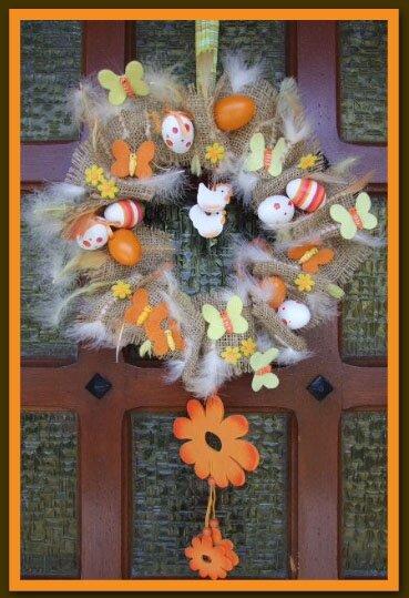 couronne de porte pâques 2008
