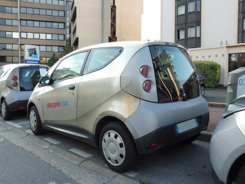 BOLLORE Bluecar Autolib' Créteil (2)