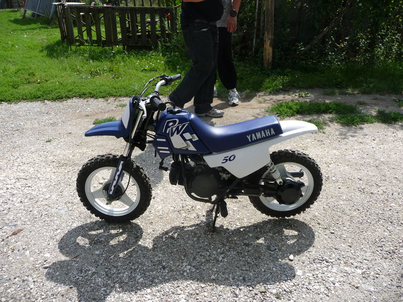 yamaha 50 mini-moto cross type   pw