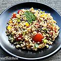 Le taboulé de quinoa