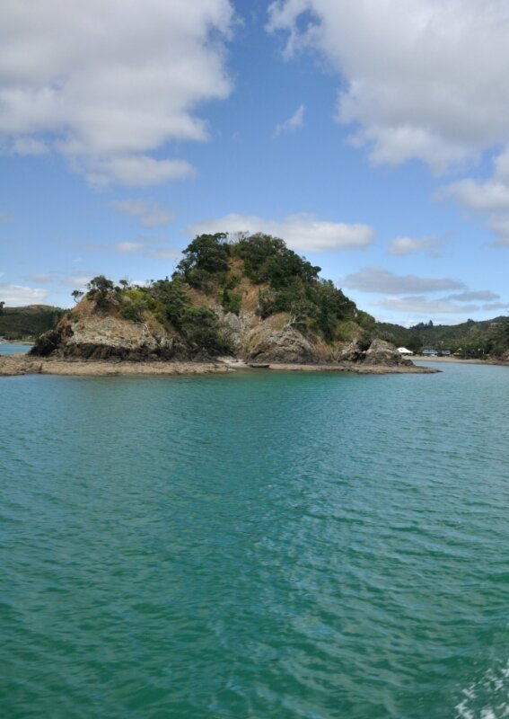 1 Poor Knights Islands - Azur