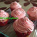 Cupcakes a la fraise