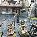 Rapport de bataille frostgrave : chronomancien vs thaumaturge