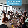 Raclette party au foyer robert gautier
