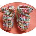 07 chaussons poupée