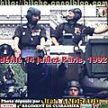 Année 1992 : officiers & sous-officiers de bitche.