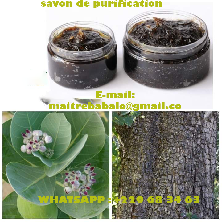 savon de purification de papa babalao