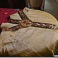 Chasuble brodée au fil d'or