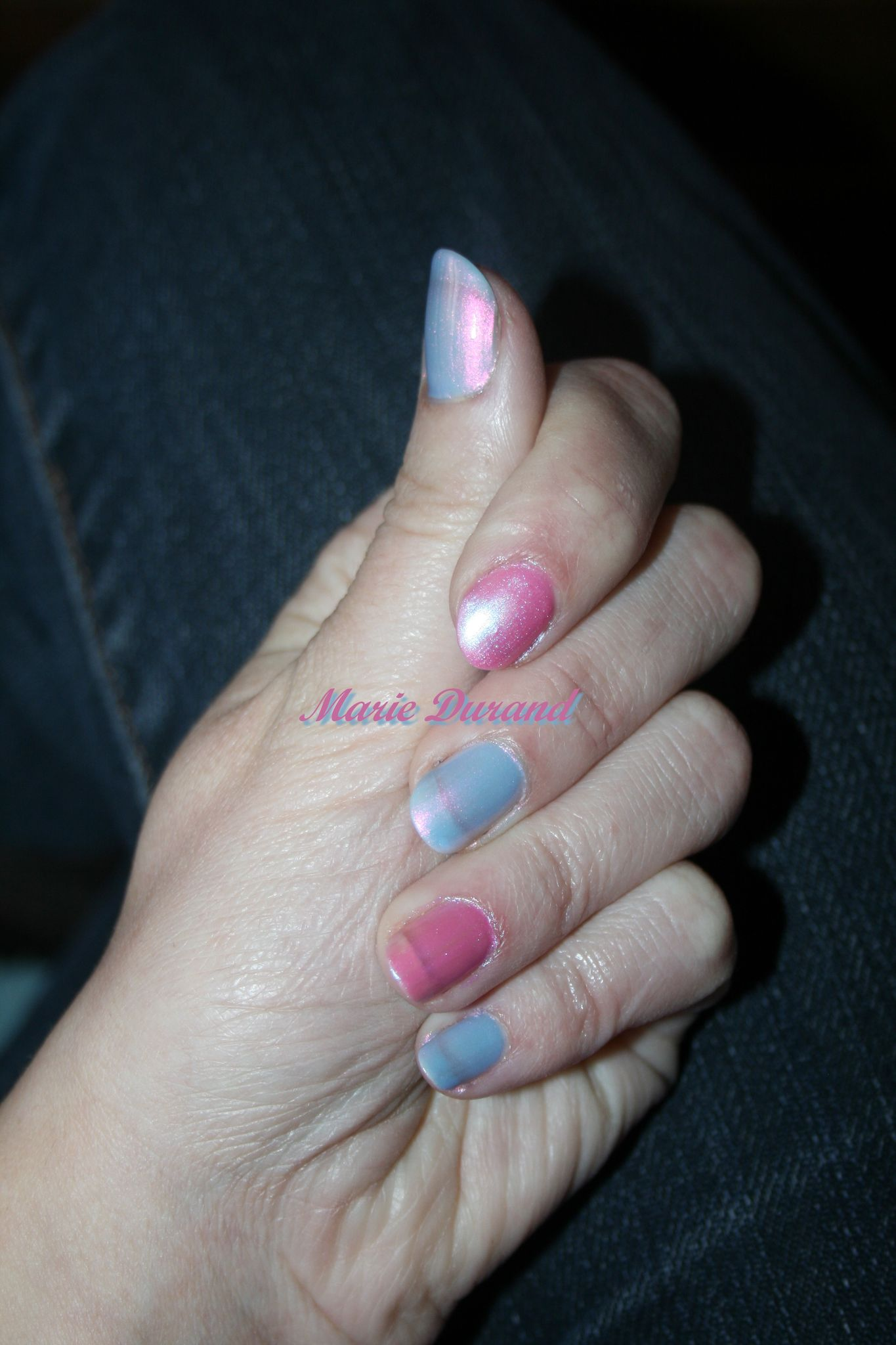 Vernis Lavender Shine et Candy Chic