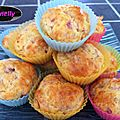 Muffin jambon-fromage