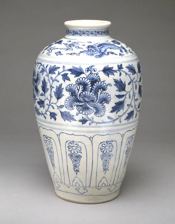 Jar. 15th century. Later Lê dynasty. Vietnam