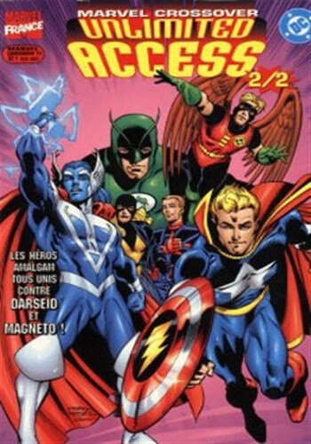 marvel crossover 11 DC vs Marvel unlimited access 2