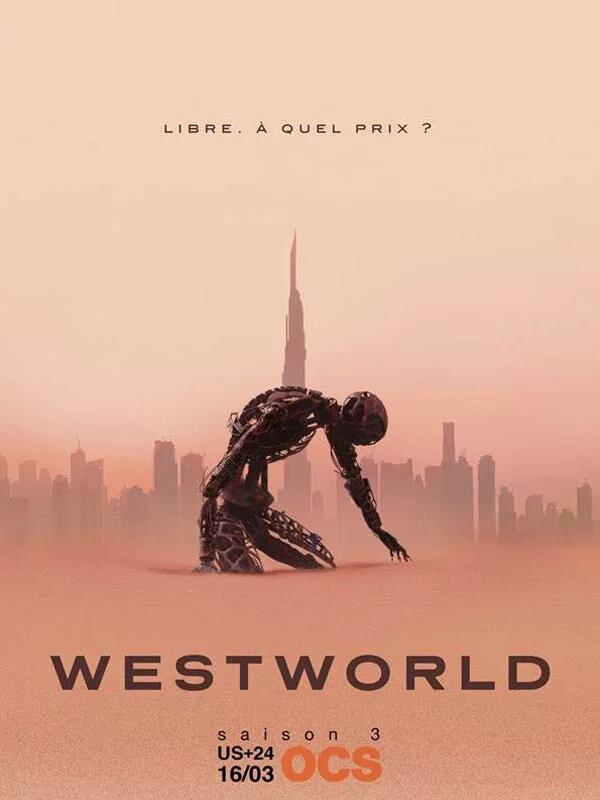 Westworld S3 affiche