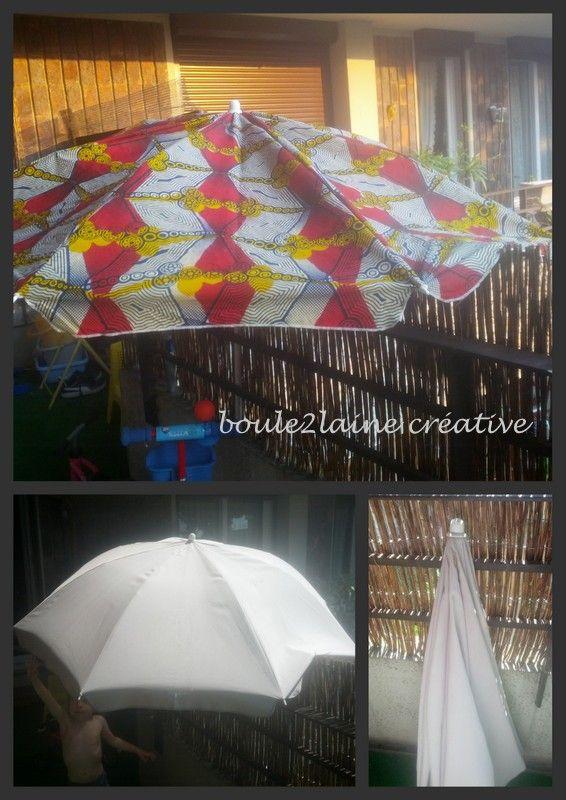Tutoriel et patron... l'histoire de la customisation d'un parasol suedois