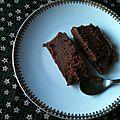 Fondant chocolat & crème de marron
