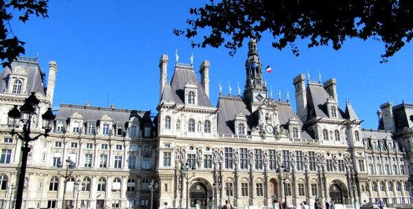 201908et09 L'hôtel de ville de Paris