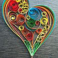 le quilling dit paperolles