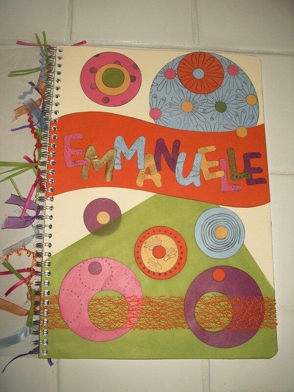Couverture de cahier A4