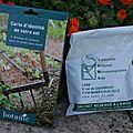 Test du kit : carte d'identité de votre sol -by botanic®