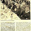 Flash back sur le repas de la saint patrick du 17 mars 2012