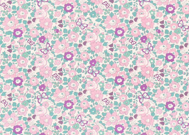 Liberty Tana Lawn Alice Caroline Exclusive Betsy Butterfly Lilac