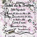 Salon de perrusson ce week-end !!! 20, 21 et 22 mars 2015