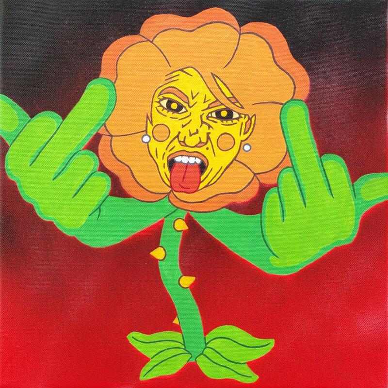 Fleur vulgaire