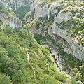 Gorges d'Opedette - Vaucluse