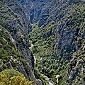 Gorges du Verdon, belvédère de Mayreste