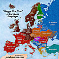 Happy New Year in European Languages