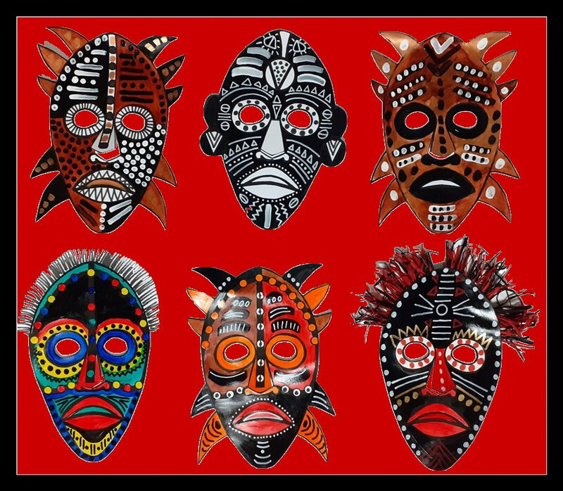 354-MASQUES-Masques africains (130c)