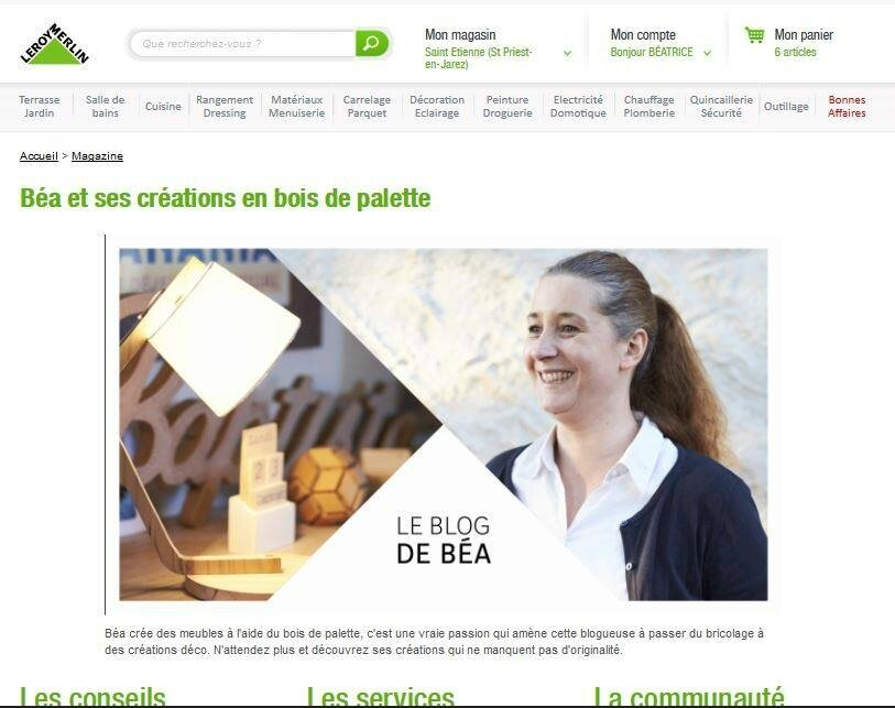 Made by Makers Le blog de Béa