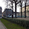 Rue devant le Palais Ducal