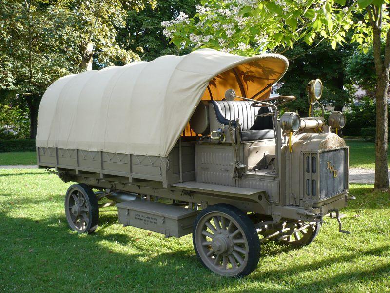 FOUR WHEEL DRIVE Model B 1917 Lons le Saunier (1)
